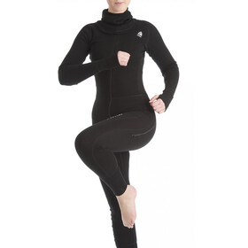 Aclima Warmwool Overall Women Jet Black